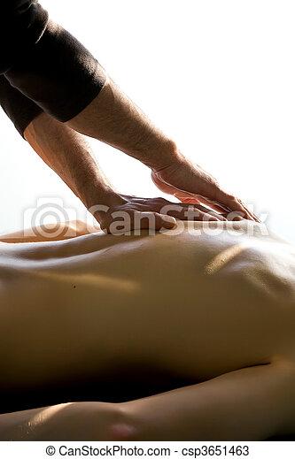 Acupuncture massage - csp3651463