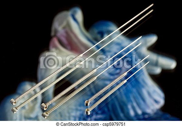 acupuncture needle - csp5979751