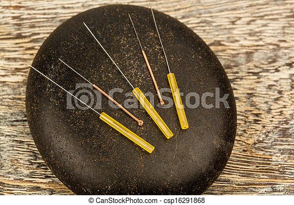 acupuncture needles - csp16291868