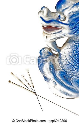 acupuncture needles - csp6249306
