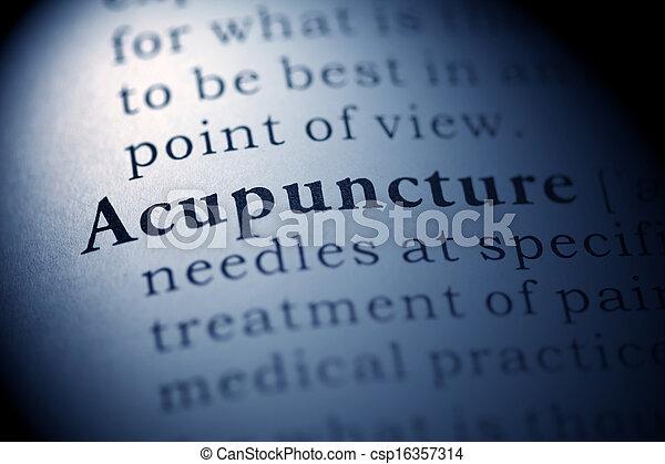 Acupuncture - csp16357314