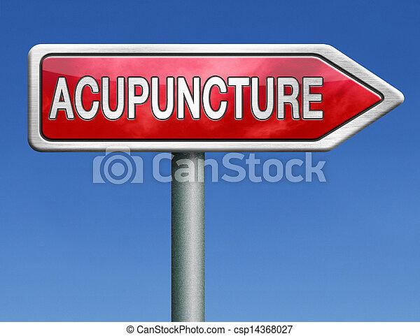 acupuncture - csp14368027