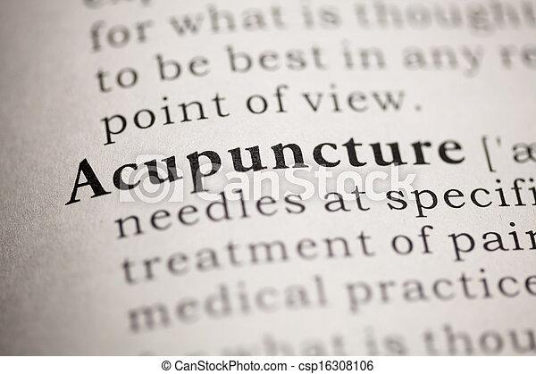 Acupuncture - csp16308106