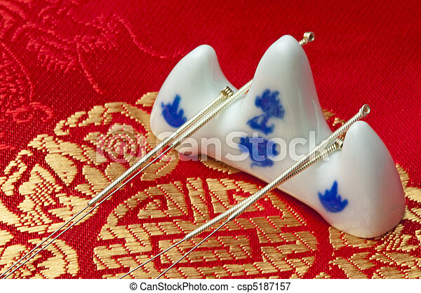 acupuntura - csp5187157