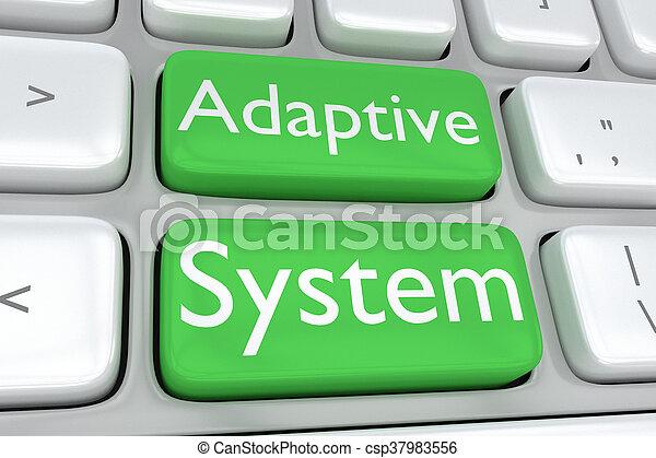 adaptável, conceito, sistema - csp37983556