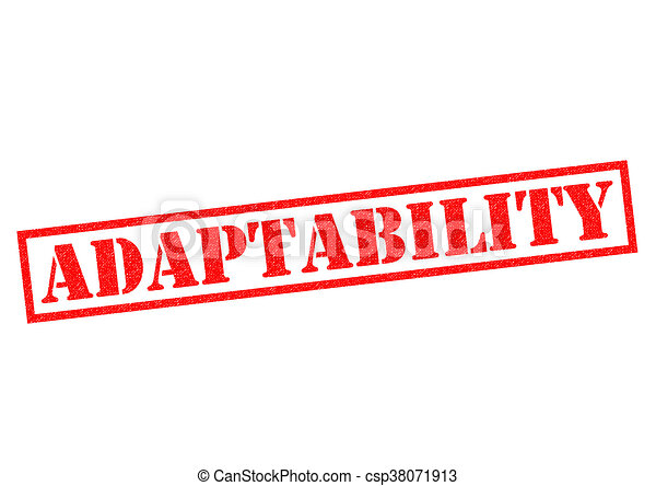 ADAPTABILITY Rubber Stamp - csp38071913