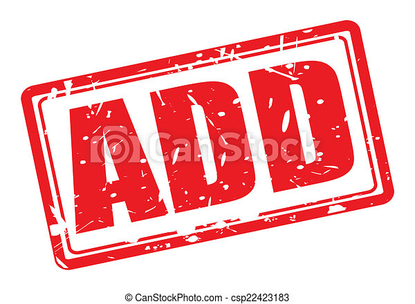 Add red stamp text - csp22423183