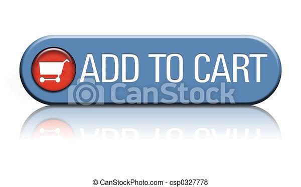 Add to cart button - csp0327778