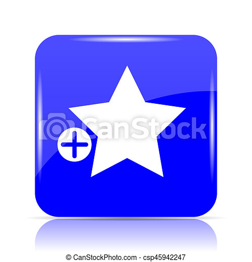 Add to favorites icon - csp45942247