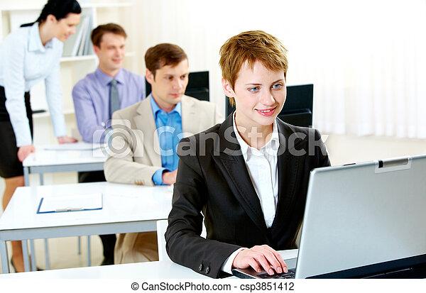 addestramento, affari - csp3851412