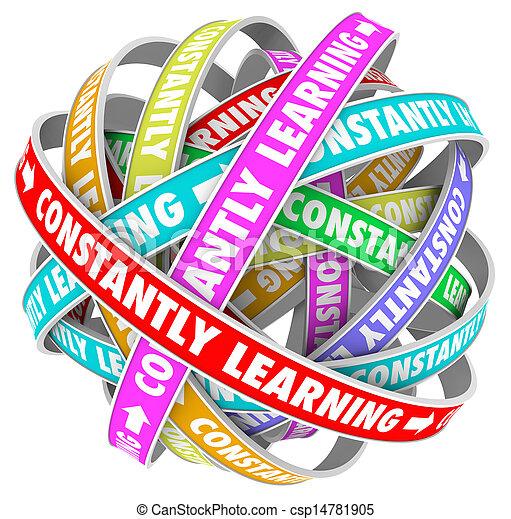 addestramento, costantemente, crescita, cultura, continuo, educazione - csp14781905