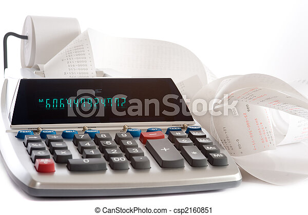 Adding Machine - csp2160851