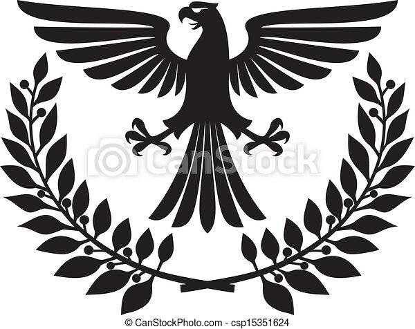adelaar, embleem - csp15351624