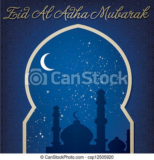 Eid al adha - csp12505920