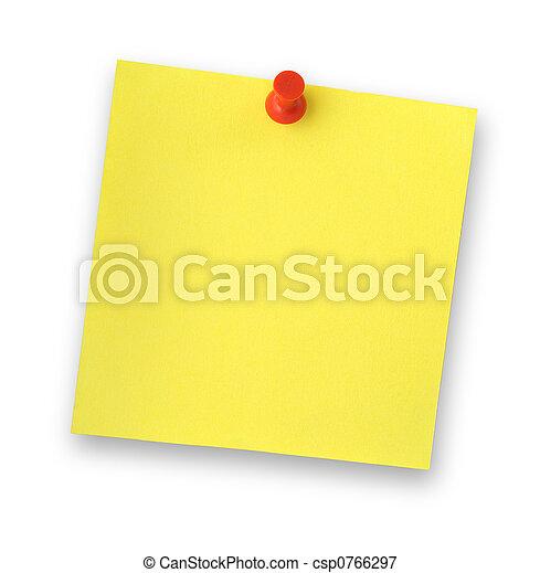 adhesive note - csp0766297