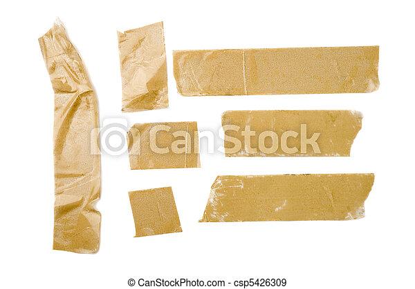 Adhesive Tape Strips - csp5426309