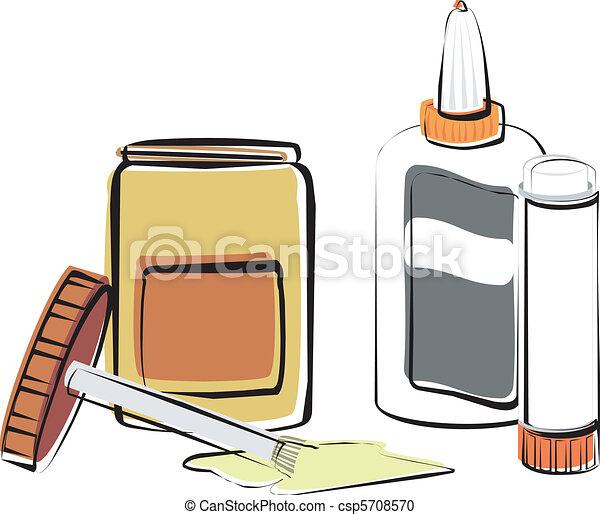 Adhesives - csp5708570