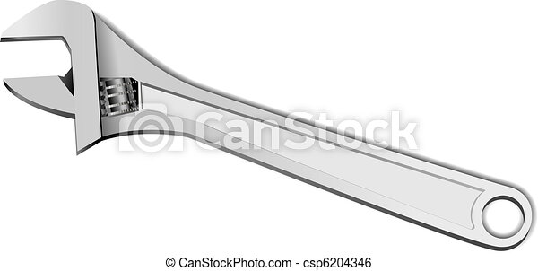 Adjustable wrench - csp6204346