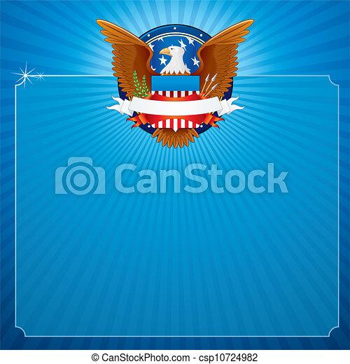 Amerikanischer Adler - csp10724982