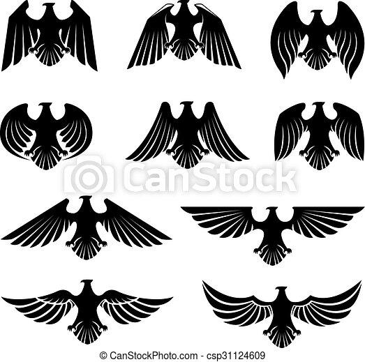 adler, symbol - csp31124609