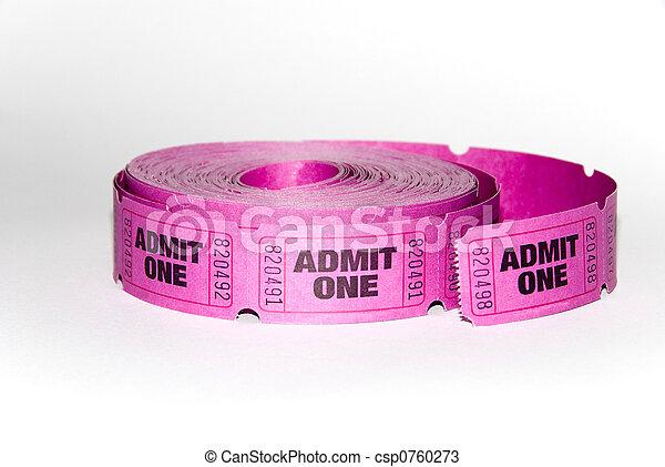 Admin one ticket - csp0760273