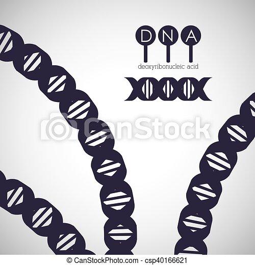 Diseño De Cromosomas Un Icono Cromosoma De Estructura De