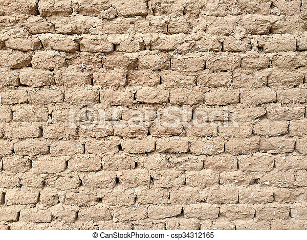 Adobe bricks - csp34312165