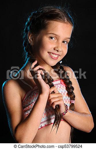 adolescents assez jeunes nus noir chatte rouge tube
