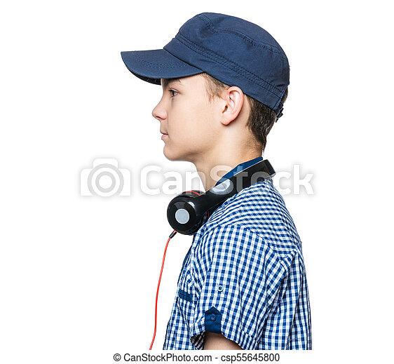 mejores marcas diseño exquisito límpido a la vista adolescente niño, gorra, auriculares