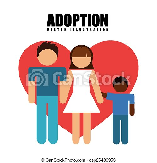 adoption concept design vector illustration eps10 graphic clipart rh canstockphoto co uk adoption clipart cat adoption clipart