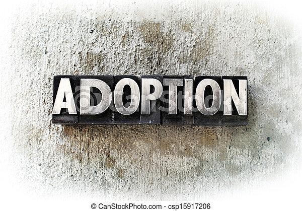 Adoption - csp15917206