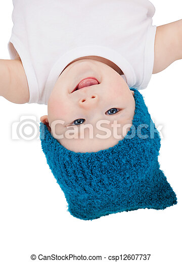 adorable baby boy - csp12607737