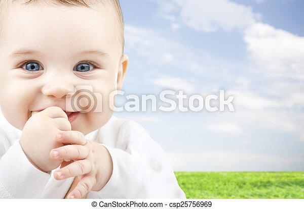 adorable baby - csp25756969