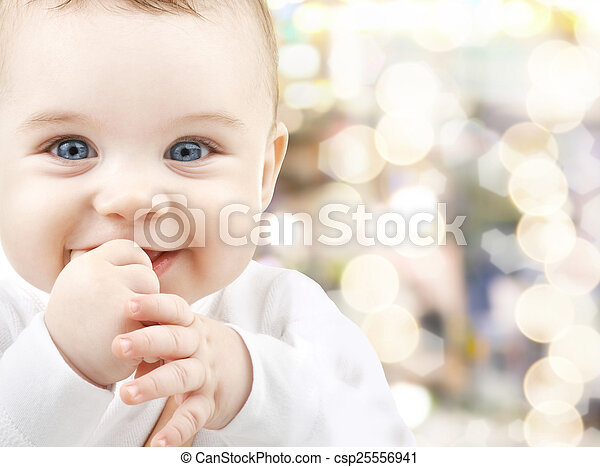 adorable baby - csp25556941