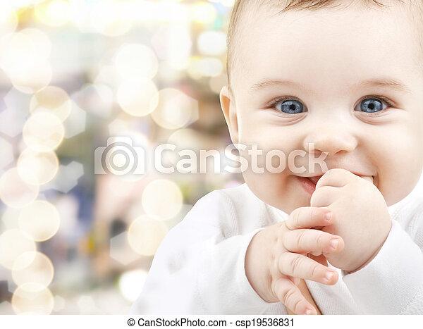 adorable baby - csp19536831