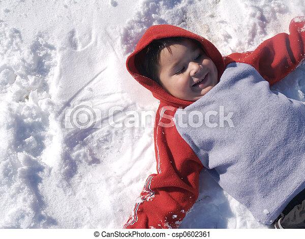 Adorable Hispanic Boy - csp0602361