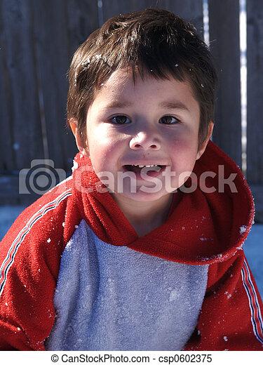 Adorable Hispanic - csp0602375