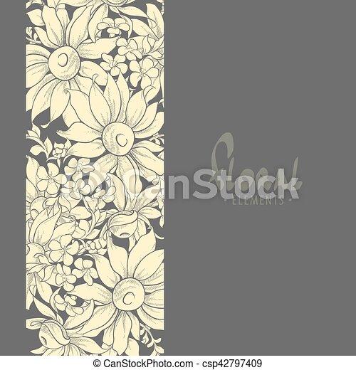 Composición profesional de girasoles - csp42797409
