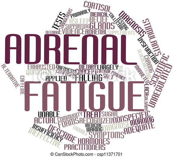 Adrenal fatigue - csp11371701
