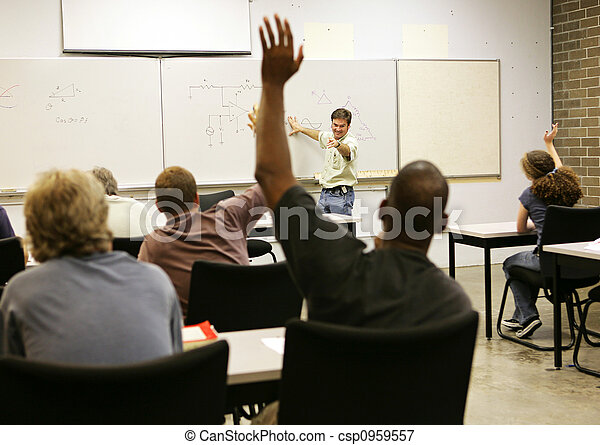 Adult Ed - Whole Class - csp0959557