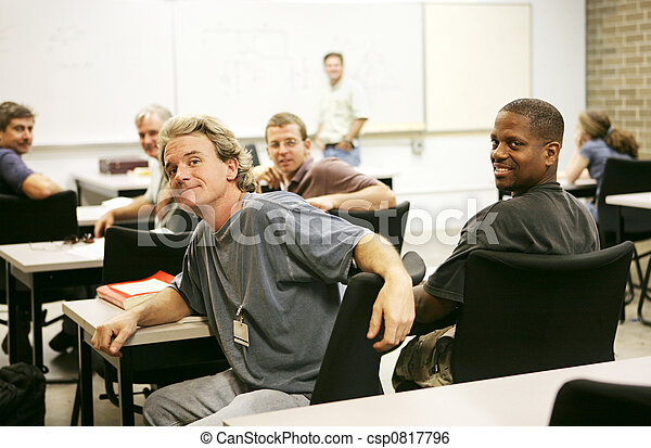 Adult Education Class - csp0817796