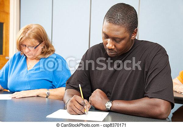 Adult Education - Diversity - csp8370171