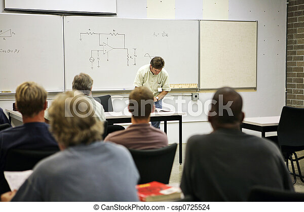 Adult Education - Electrical Circuit - csp0725524