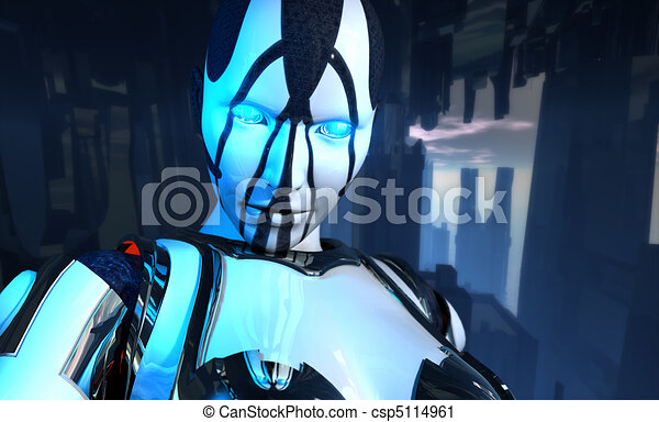 advanced cyborg soldier - csp5114961