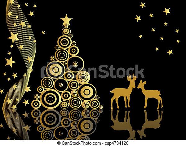 advent, animal, art, backdrop, back - csp4734120