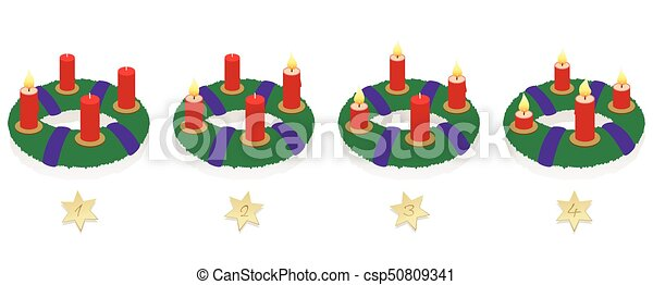advent wreath on four sundays burning candles advent. Black Bedroom Furniture Sets. Home Design Ideas