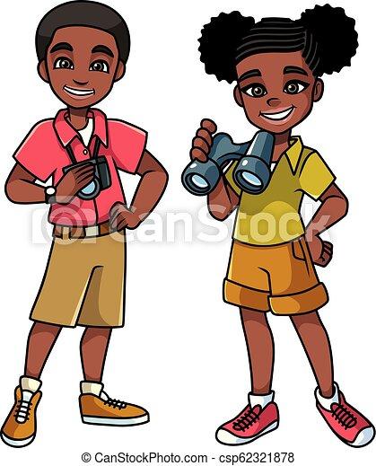 Adventure Kids Black - csp62321878