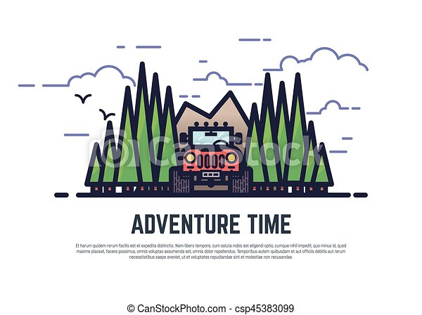 Adventure time offroad - csp45383099