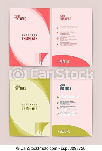 Advertisement Flyer Design Elements Modern Style Website Banner Purple Background Page