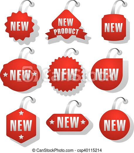 Advertising and promotion stickers csp40115214